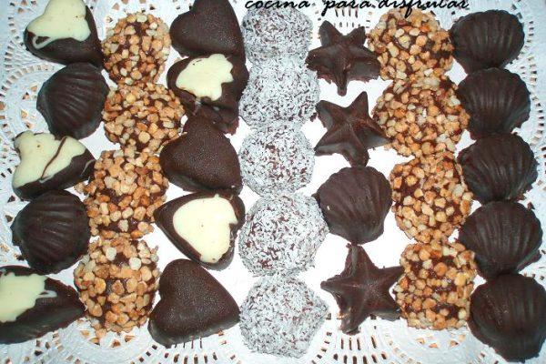 Cómo hacer bombones de chocolate fáciles