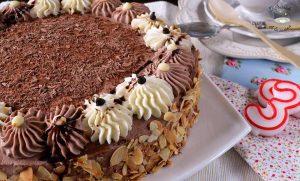 Como hacer pastel de nata y trufa con cobertura de trufa fácil