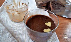 Receta de panna cotta de chocolate fácil