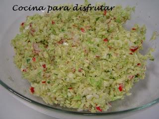 Cómo hacer ensalada de rabanito y repollo fácil