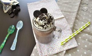 Receta facil batido chocolate y oreo