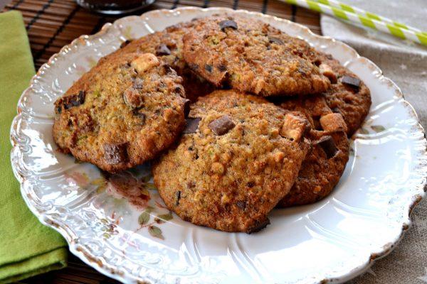 Cómo hacer galletas de calabacín y chocolate fáciles