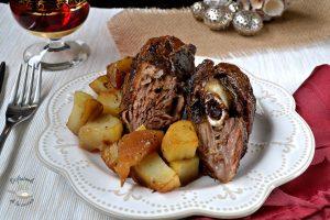 pierna cordero horno patatas