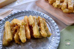 Palitos de calabacín y parmesano (Entrante fácil)