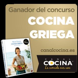 Ganadora premio Canal Cocina concurso Cocina Griega