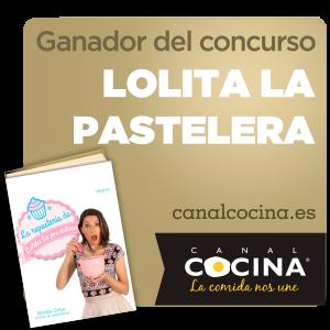 Ganadora premio Canal Cocina concurso Lolita la Pastelera