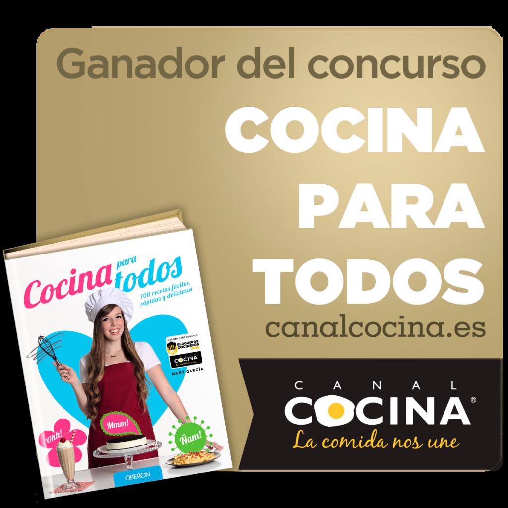 Ganadora premio Canal Cocina concurso Cocina para Todos