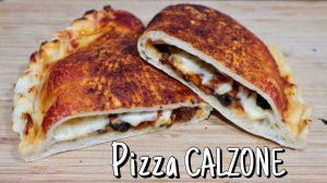 Cómo hacer pizza calzone fácil