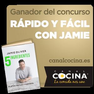 Ganadora del premio de Jamie Oliver de Canal Cocina