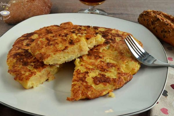 Receta de tortillas de patatas y cebolla fácil