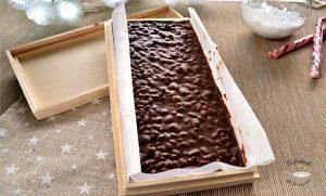 hacer turron de chocolate crujientes tipo suchard