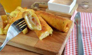 Flamenquines de pan de molde (Receta fácil)