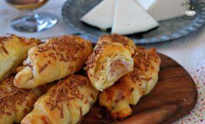 Mini saladitos de jamón y queso (receta fácil)