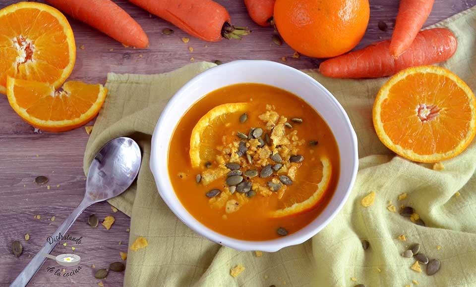 Como hacer crema de zanahoria