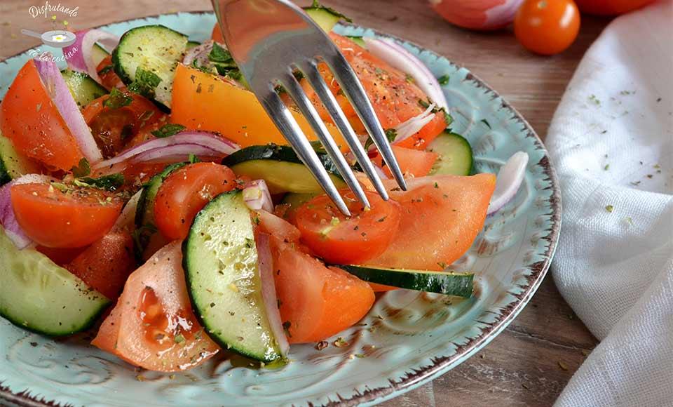 Ensalada de tomate