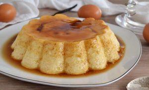 Flan de queso (receta fácil)