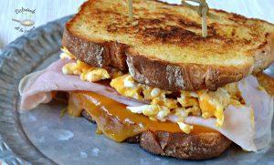 Sandwich fundy O'clock con o sin gluten (Receta fácil)