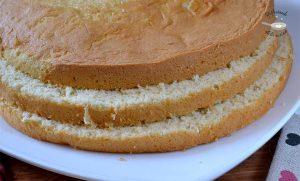 Bizcocho super esponjoso para tarta