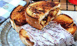 Sandwich de pollo a la barbacoa (Receta Entrantes fácil)