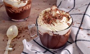 Chocolate suizo a la taza
