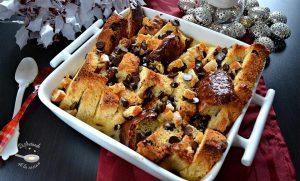 Pudding o pudin de panettone