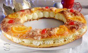 Roscon de Reyes de hojaldre receta Sin Gluten