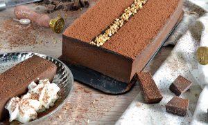Tarta cremosa de chocolate o Terrina de chocolate