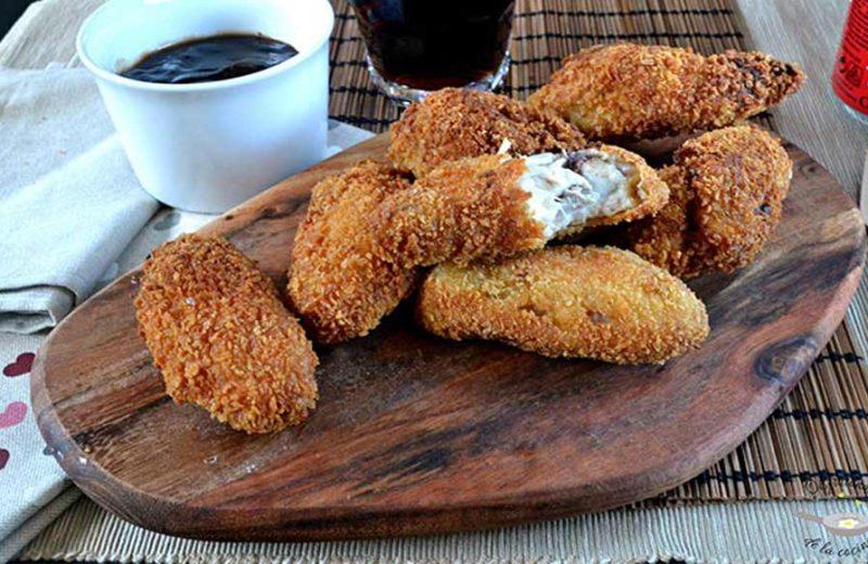 Receta de alitas de pollo crujientes