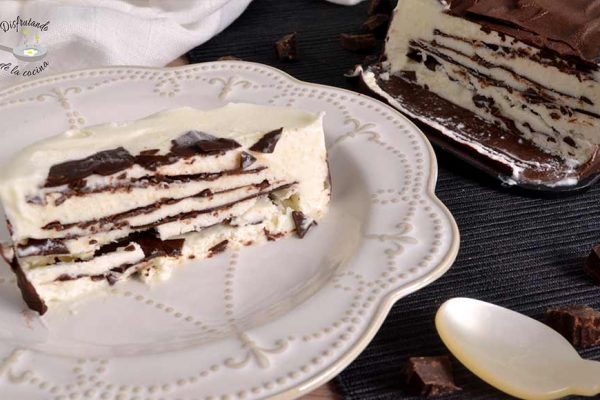 Receta de la tarta comtessa o viennetta casera