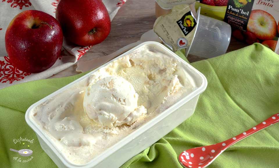 Receta de helado de Yogurt y compota