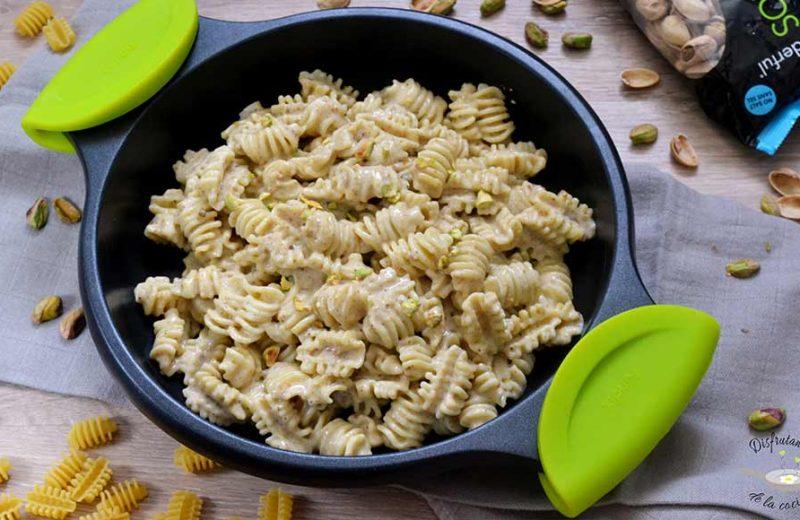 Receta de pasta con salsa de pistachos