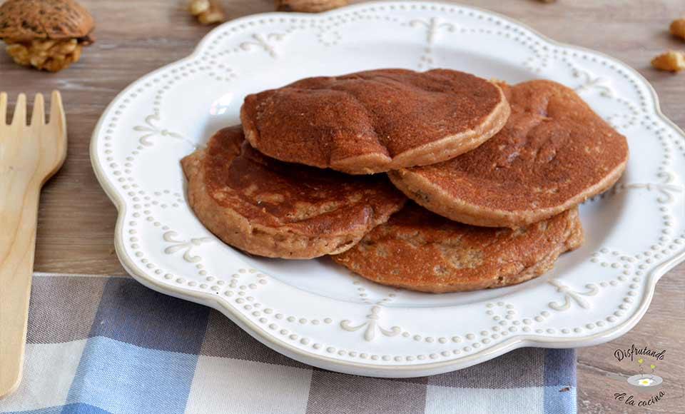 Receta de tortitas de nueces caseras