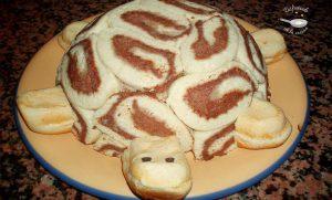 Tartas infantiles: Pastel tortuga