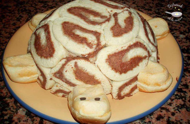 Receta de pastel tortuga