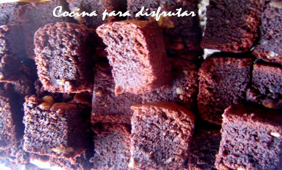 Receta de bizcocho de chocolate sin gluten