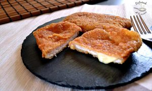 Cordon bleu de lomo de cerdo, jamón y queso