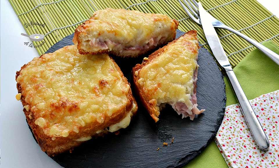 Receta de sándwich Croque-monsieur