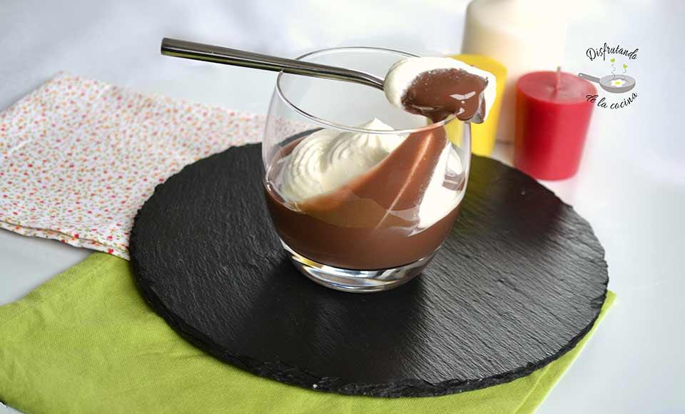 Receta de Dalky de chocolate al microondas
