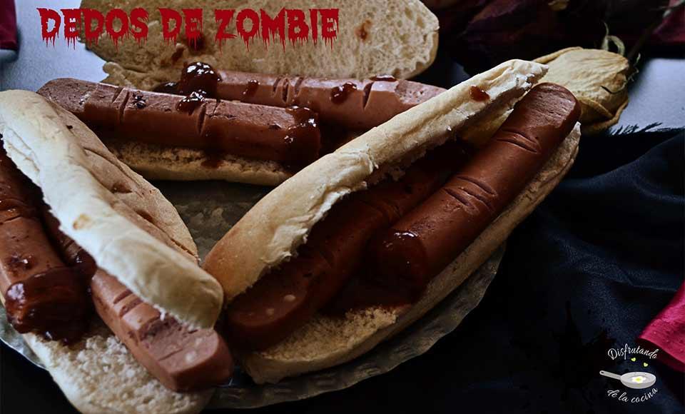 Receta de dedos de zombie