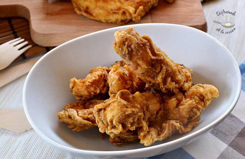 Receta de pollo al estilo Kentucky fried chicken - KFC
