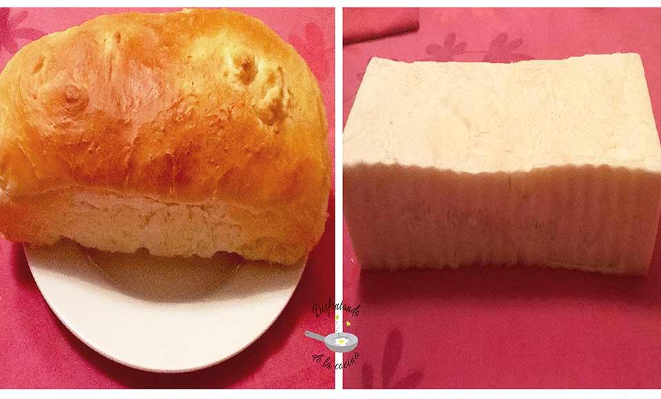 Receta de pan de molde con y sin corteza casero