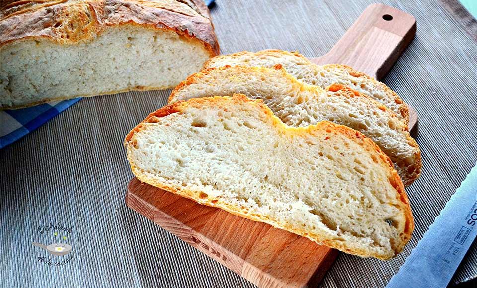 Receta de pan básico casero