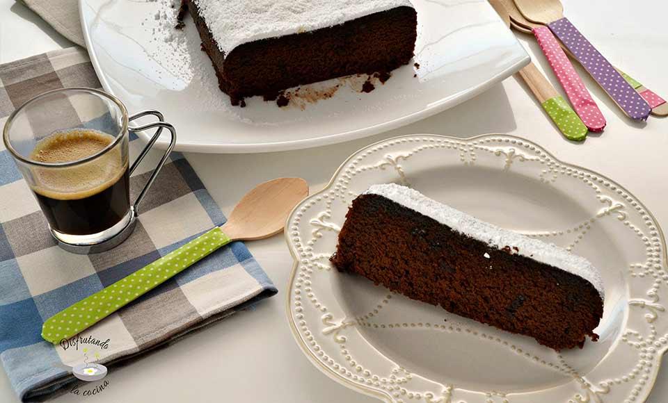 Receta de pastel de chocolate 4 minutos al microondas