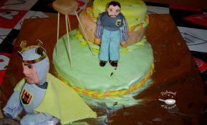 Pastel de cumpleaños para un «Geganter»
