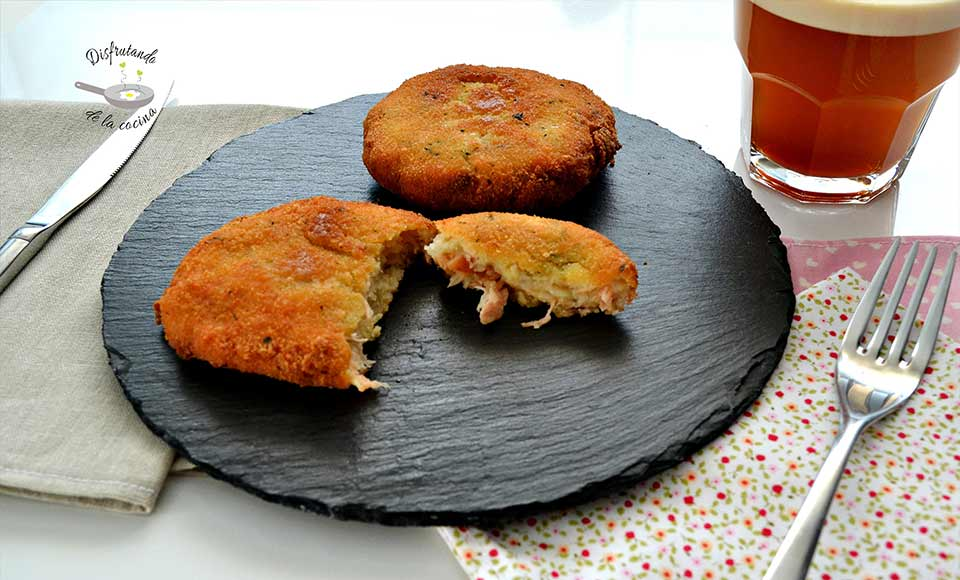 Receta de pastelitos de salmón