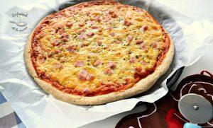 Masa de pizza integral