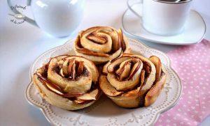 Rosas de manzana y canela