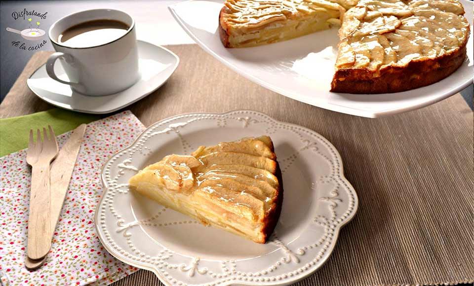 Receta de tarta de manzana de mi suegra