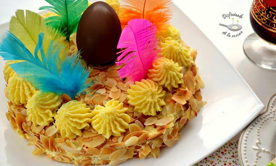Receta de Tarta Sara -Mona de Pascua-