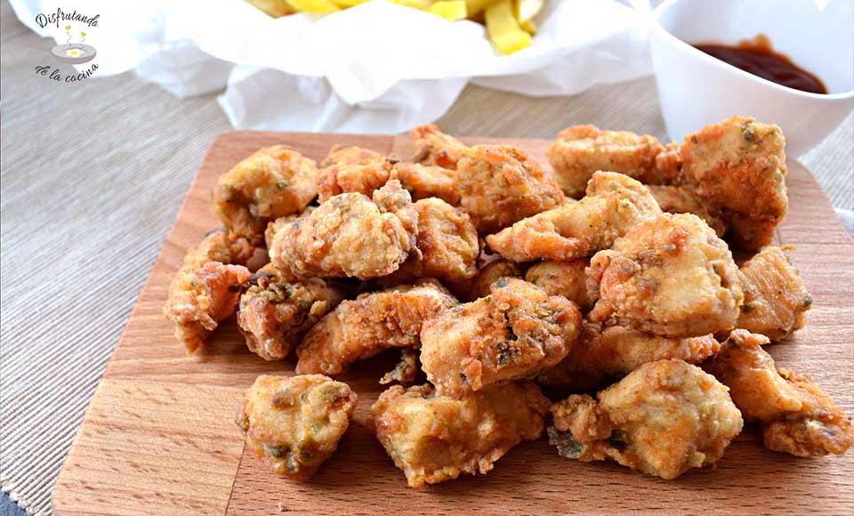 Receta de lagrimitas de pollo